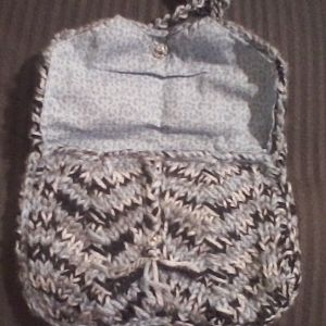 Chevron Stitch Purse