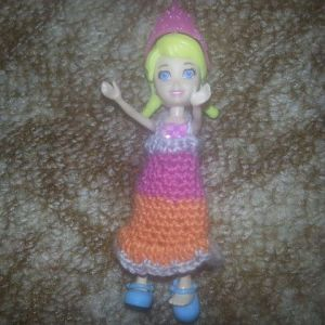 Kleid Polly Pocket