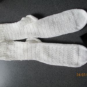 Socken, stricken, dreifädiges Garn