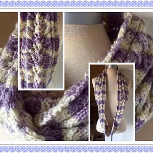 Japanese Lace Cowl