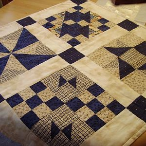 Traditioneller Quilt