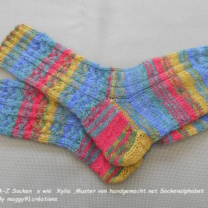 A-Z Socken September Xylia