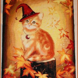 Mini Autumn Cat Magic