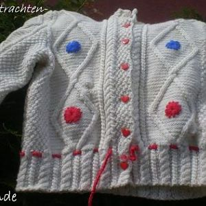 Kindertrachtenjacke