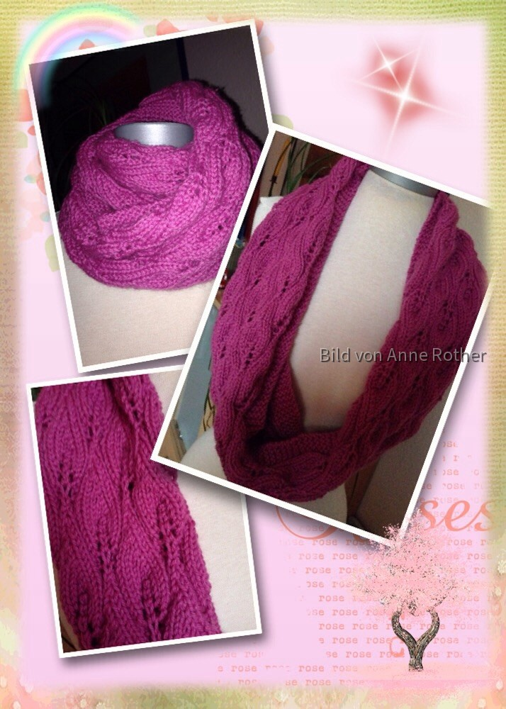Candle Flame Scarf