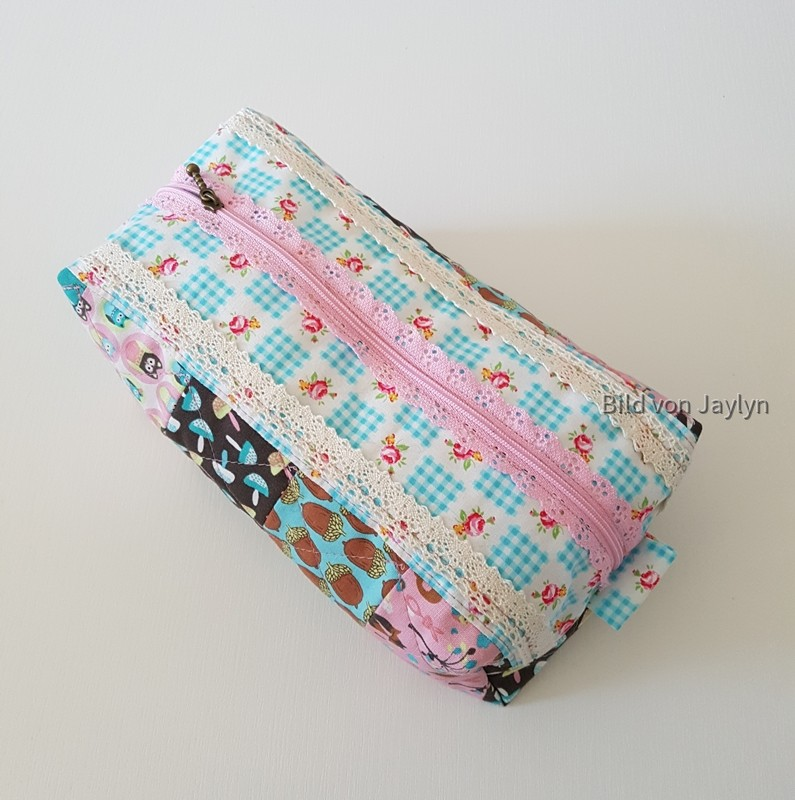 The Posie Patchwork Pouch